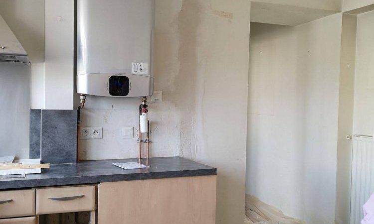 Blue Gold Control Installation de chauffe-eau extra plat Issy-les-Moulineaux